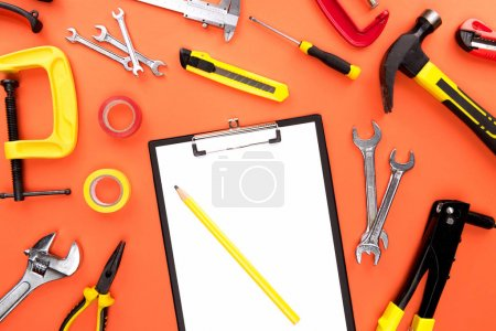 Clipboard and reparement tools