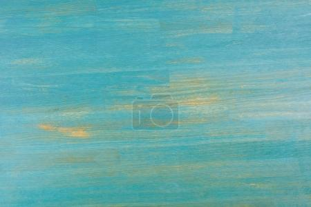textured turquoise empty wooden background