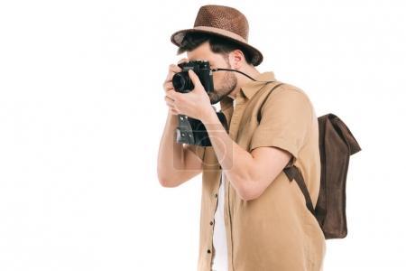 Isolated tourist