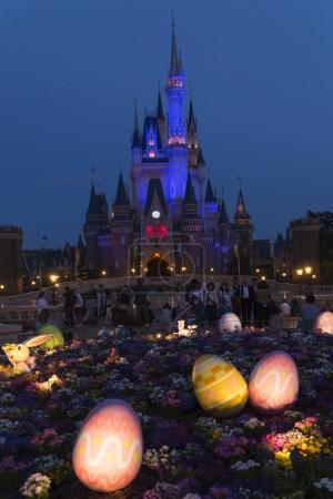 Tokyo Disneyland Cinderella castle and