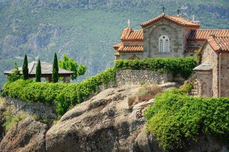 Mountain Monastery in Meteora, Greece