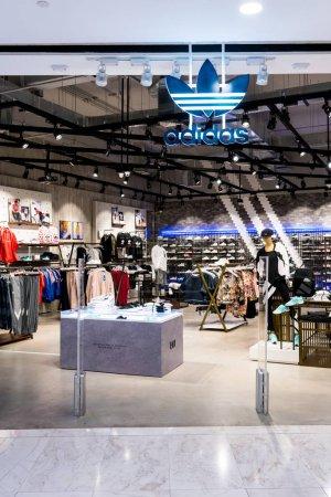 Adidas shop at Emquatier Bangkok