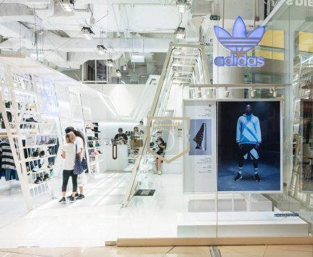 Adidas shop at Mega Bangna