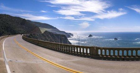 Bixby Bridge road curve