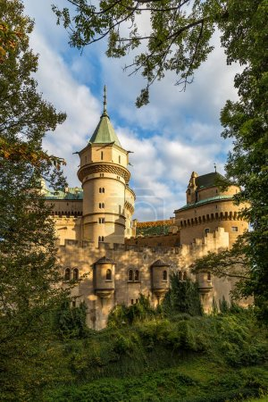 Medieval castle Bojnice.