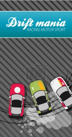 Drifting race cars
