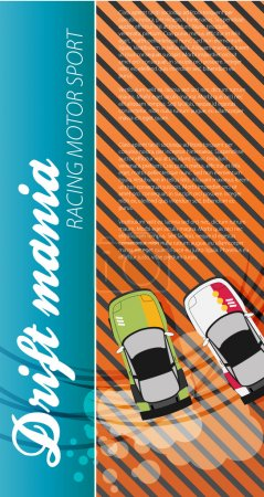 Drifting Race Cars poster