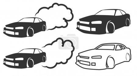 Drifting Race Car icons