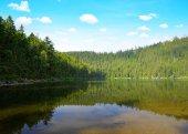 Devil`s Lake in Czech Republic.