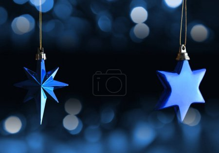 Christmas decoration in the shape star.