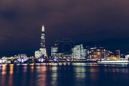 modern London cityscape skyline