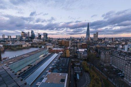 modern London cityscape