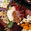 Exquisite variety of appetizers for festive occasi...