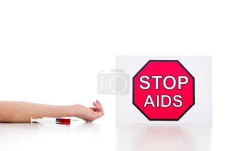 junkie died of aids
