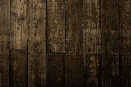 Photo for Top view of textured wooden background - Royalty Free Image