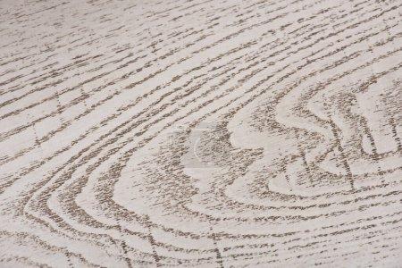 Photo pour Vue de dessus de la surface texturée en bois gris avec espace de copie - image libre de droit