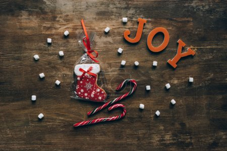 christmas word Joy
