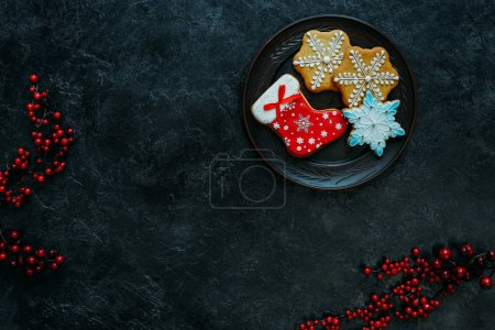 homemade gingerbreads on plate