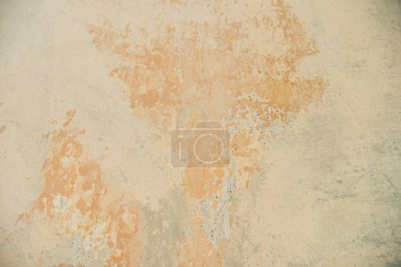 Photo for Old scratched orange wall textured background - Royalty Free Image