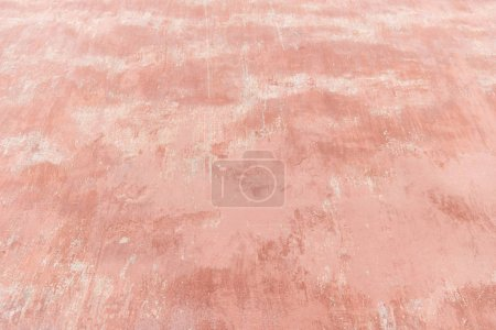 Photo for Close-up view of weathered pink wall texture - Royalty Free Image