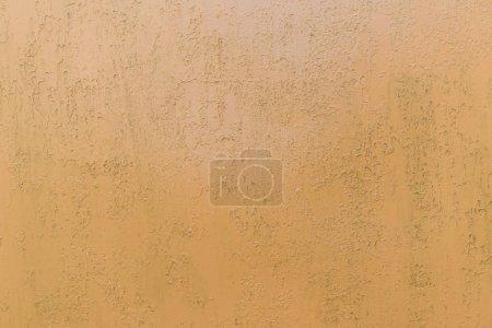 Photo pour Fond de mur orange rayé brut texturé - image libre de droit
