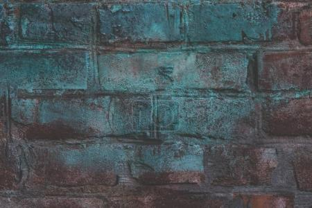 Photo for Close-up view of grunge brick wall textured background - Royalty Free Image