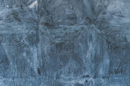 Photo for Close-up view of blue weathered concrete wall texture - Royalty Free Image