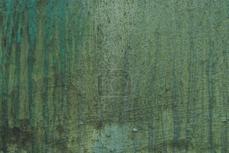 Photo for Old scratched green wall textured background - Royalty Free Image