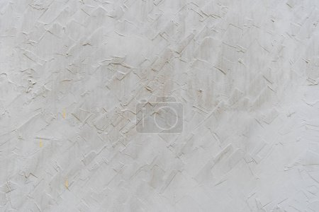 Photo for Blank gray plastered wall background - Royalty Free Image