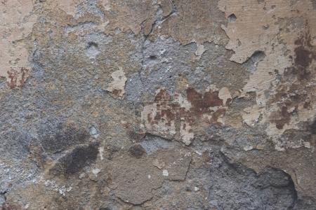 Photo pour Vue rapprochée du mur gris altéré fond texturé - image libre de droit