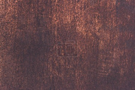 Photo for Scratched rusty metal textured background - Royalty Free Image