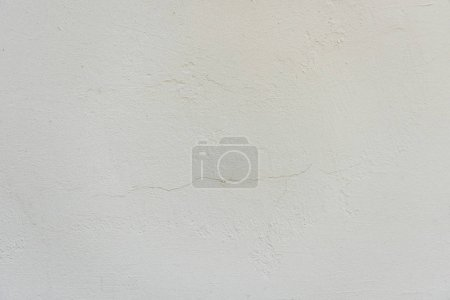 Photo for Close-up view of white weathered concrete wall textured background - Royalty Free Image