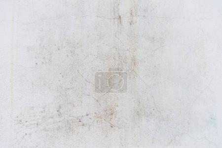 Photo for Close-up view of white weathered concrete wall background - Royalty Free Image