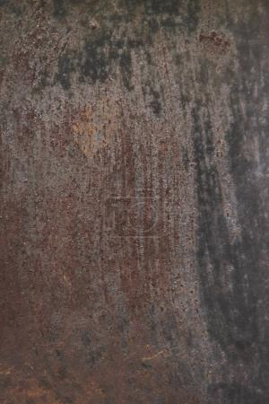 Photo for Old scratched rusty metallic surface - Royalty Free Image