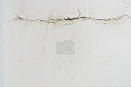 Foto de Vista cercana de la textura de la pared de hormigón blanco - Imagen libre de derechos