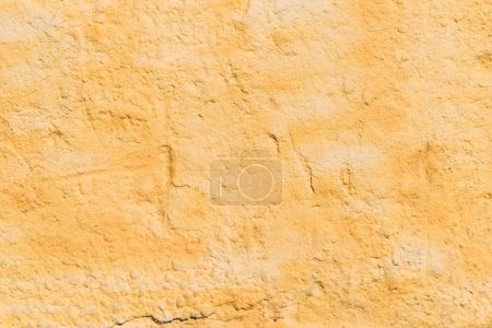 weathered orange wall