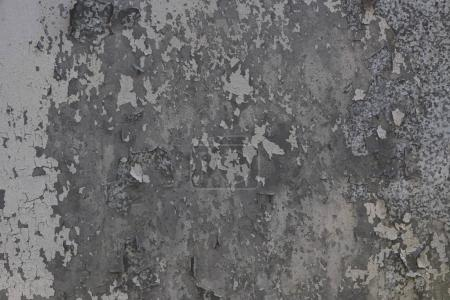 Photo for Close-up view of scratched grey wall textured background - Royalty Free Image
