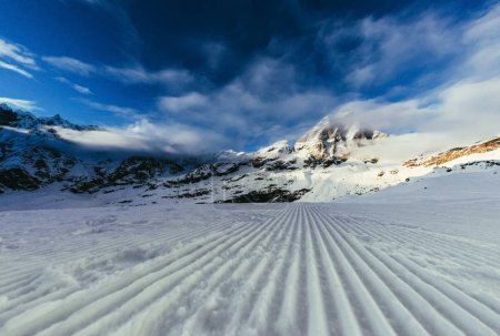 tranquil mountains landscape under blue sky, Austria