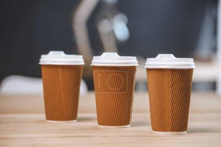 gobelets jetables de café