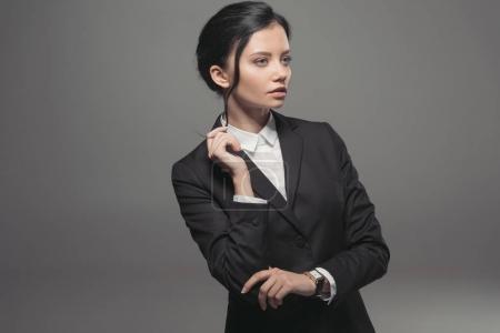 confident attractive businesswoman