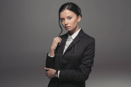 confident attractive businesswoman