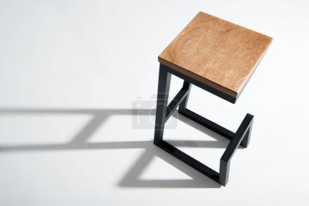 stylish barstool with wooden top