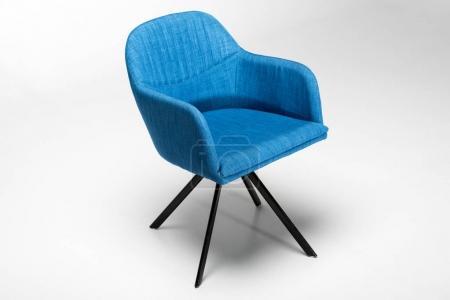 stylish blue chair