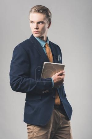 handsome young businessman