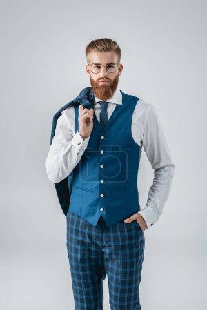 confident stylish man