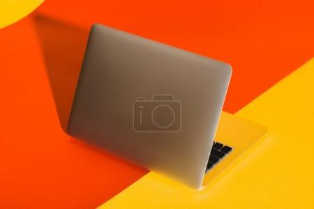 stylish opened laptop
