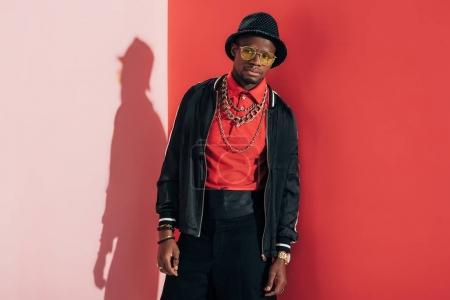 stylish african american man
