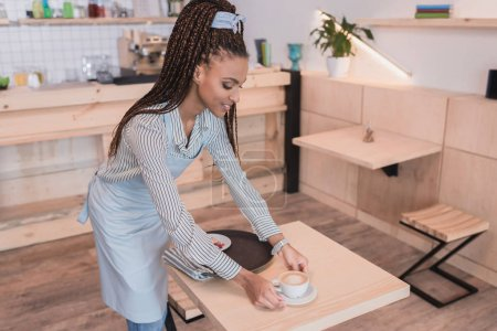 barista serving table