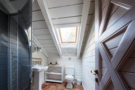 bathroom in cottage house