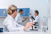 chemists doing experiments
